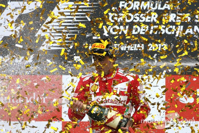 Hockenheim 2012 : Ferrari prive Vettel d'une victoire à domicile