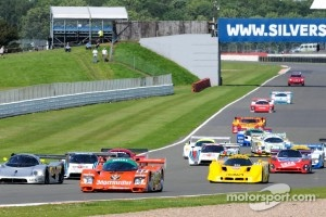 Group C formation lap