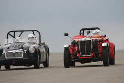 #450, 1953 MG TD, Mike Barstow & #37, 1959 MG A, David Good