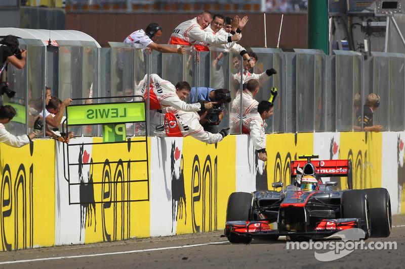 2012 Macaristan GP: Lewis Hamilton, McLaren Mercedes