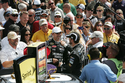 Victory lane: Jimmie Johnson's wife and daughter