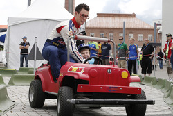 Thierry Neuville and Nicolas Gilsoul, Citroën Junior World Rally Team