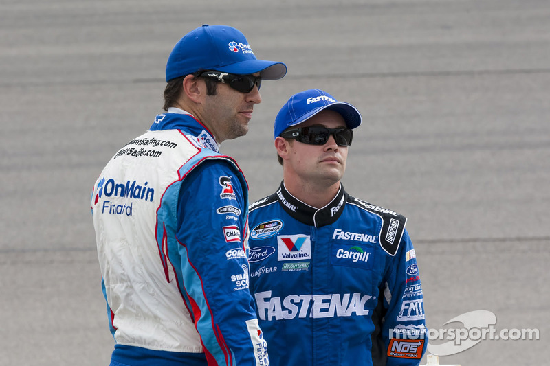 Ricky Stenhouse Jr. en Elliott Sadler