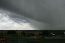Skies over Snetterton