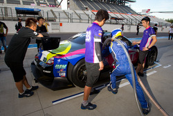 Refuel practice for #38 Lexus Team Zent Cerumo Lexus SC430