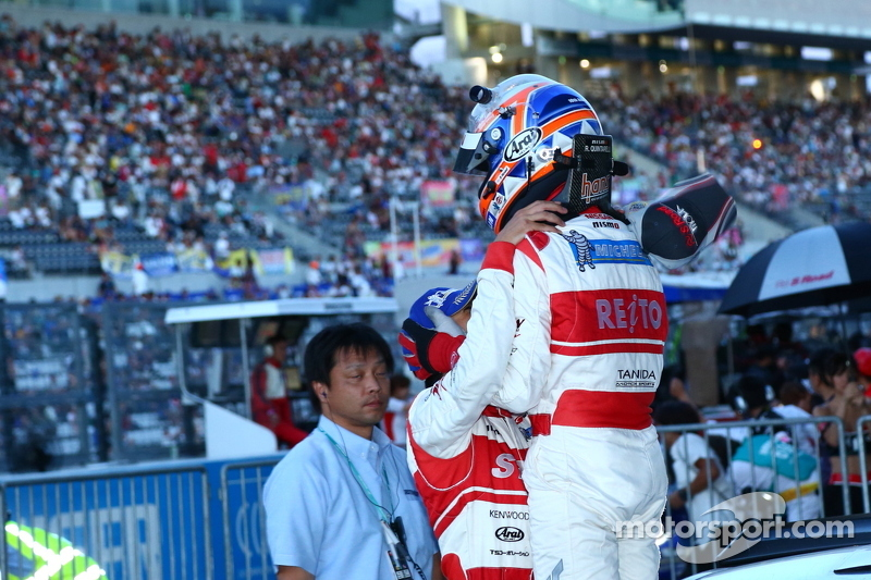 GT500 winnaars Masataka Yanagida en Ronnie Quintarelli