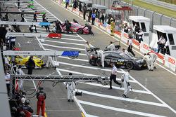 Bruno Spengler, BMW Team Schnitzer BMW M3 DTM, pit lane