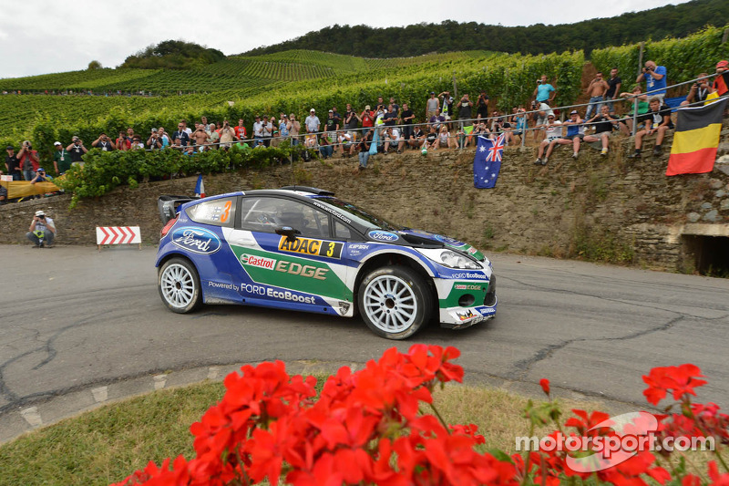 Jari-Matti Latvala en Miikka Anttila, Ford Fiesta RS WRC, Ford World Rally Team