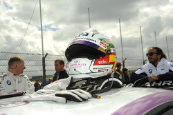 Andy Priaulx, BMW Team RBM; helmet