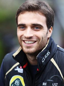 Jérôme d'Ambrosio, Lotus F1 Team Third Driver