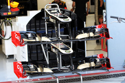 Lotus F1 front wings