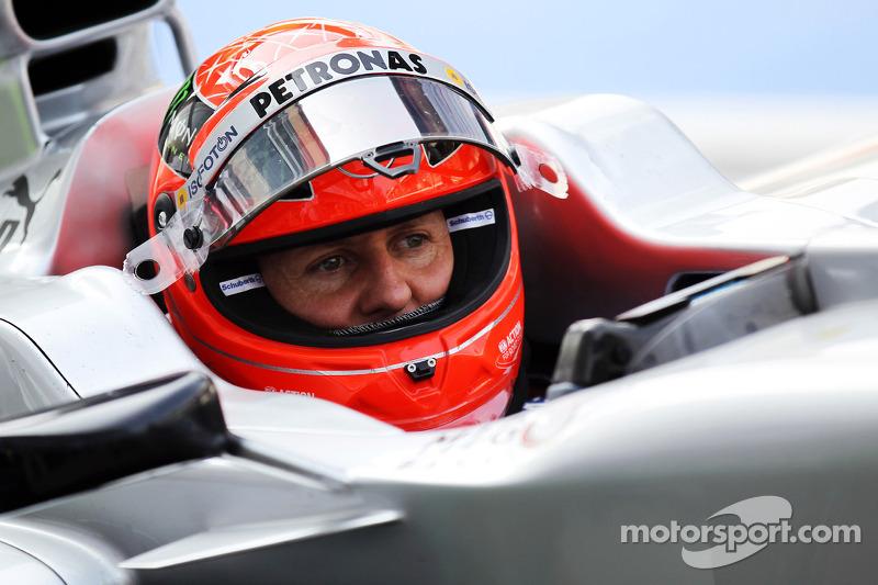 6 - Michael Schumacher (19 pistas)