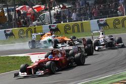 Fernando Alonso, Ferrari voor Kimi Raikkonen, Lotus F1