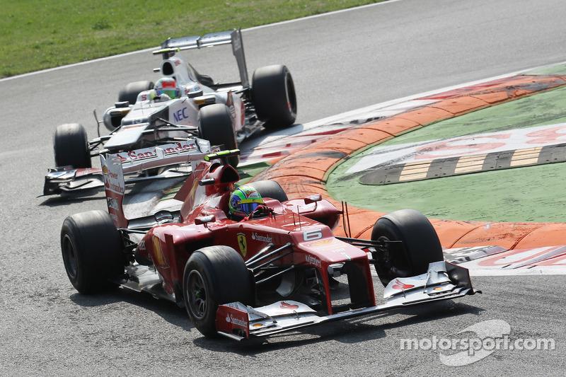 Felipe Massa, Ferrari voor Sergio Perez, Sauber