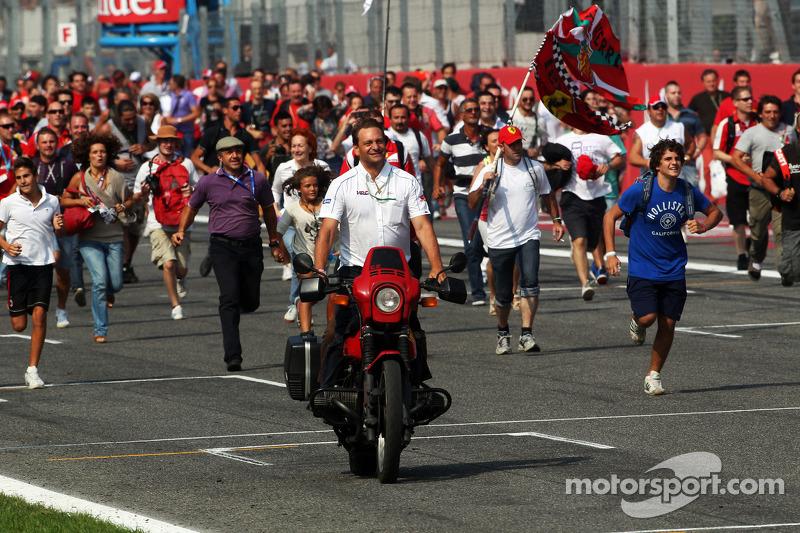 Fans op het circuit