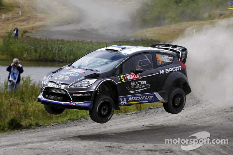 Ford Motor Company Linkedin >> Ott Tanak and Kuldar Sikk, Ford Fiesta RS WRC, M-Sport Ford World Rally Team at Wales Rally GB
