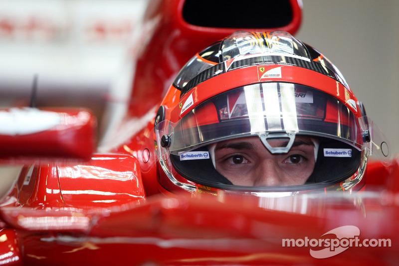 Jules Bianchi, testrijder, Scuderia Ferrari