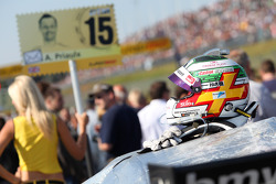 Helm van Andy Priaulx, BMW Team RBM BMW M3 DTM