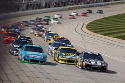 Start: Jimmie Johnson, Hendrick Motorsports Chevrolet leads