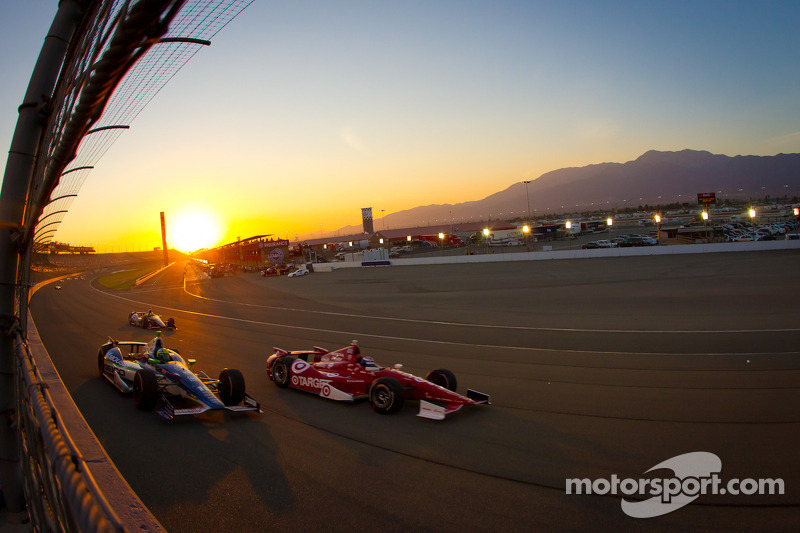 Tony Kanaan, KV Racing Technology Chevrolet, Scott Dixon, Target Chip Ganassi Racing Honda