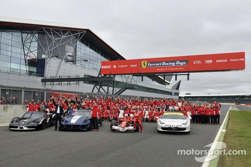 Ferrari Racing Days Official Photo