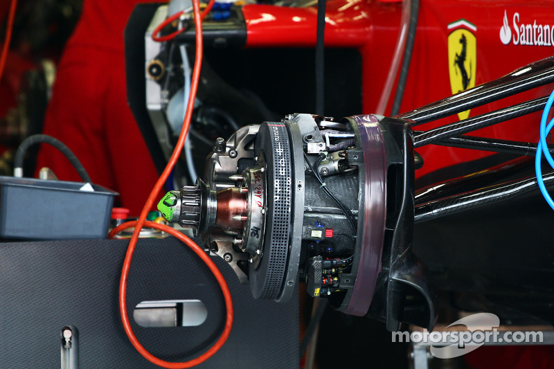 Ferrari brake