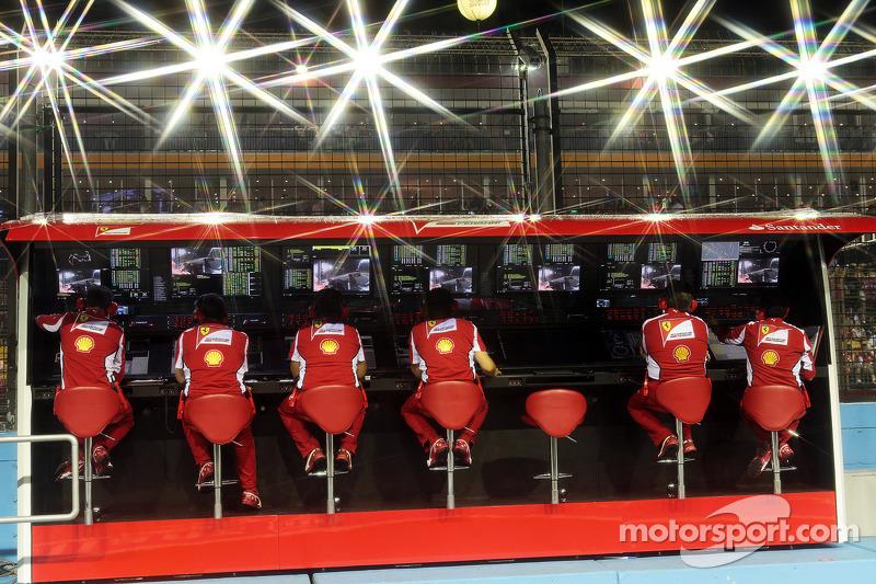 Ferrari pits