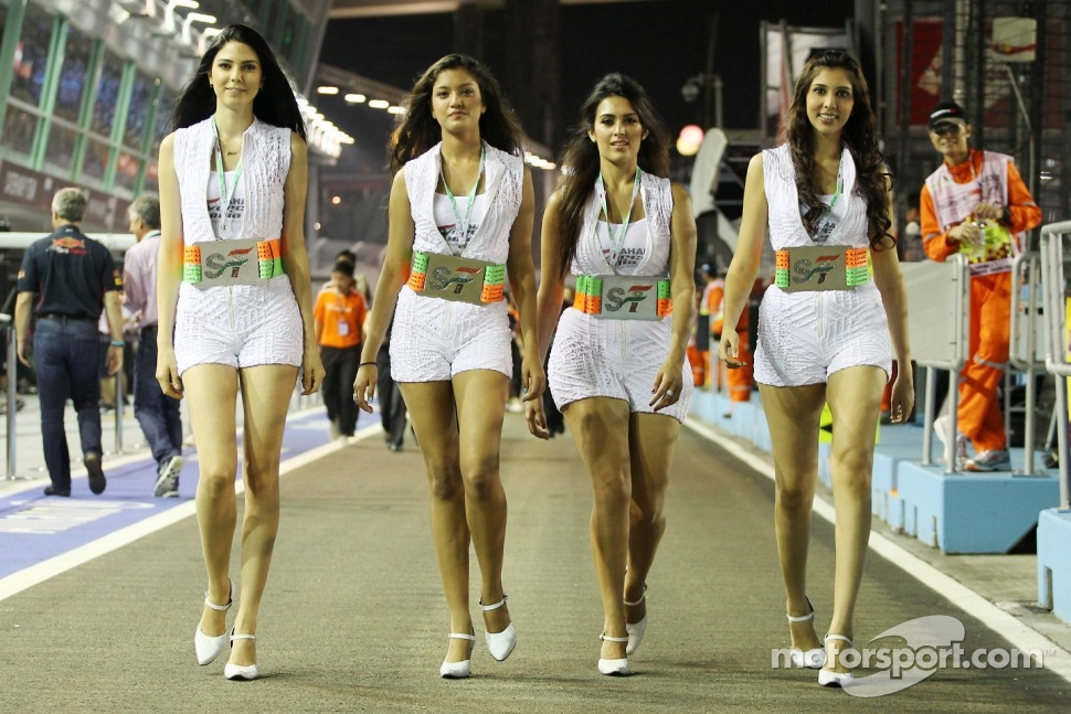 Sahara Force India F1 Team Divas