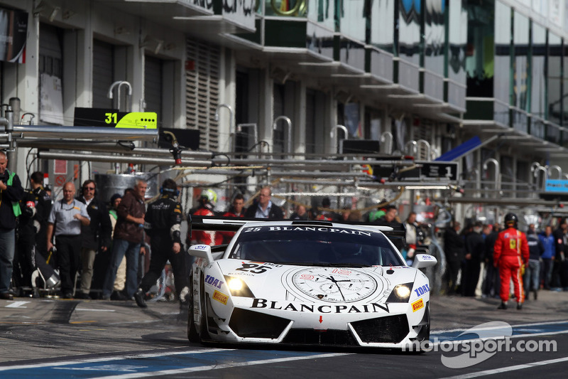 #25 Reiter Engineering Lamborghini Gallardo LP600: Peter Kox, Stefano Rosina