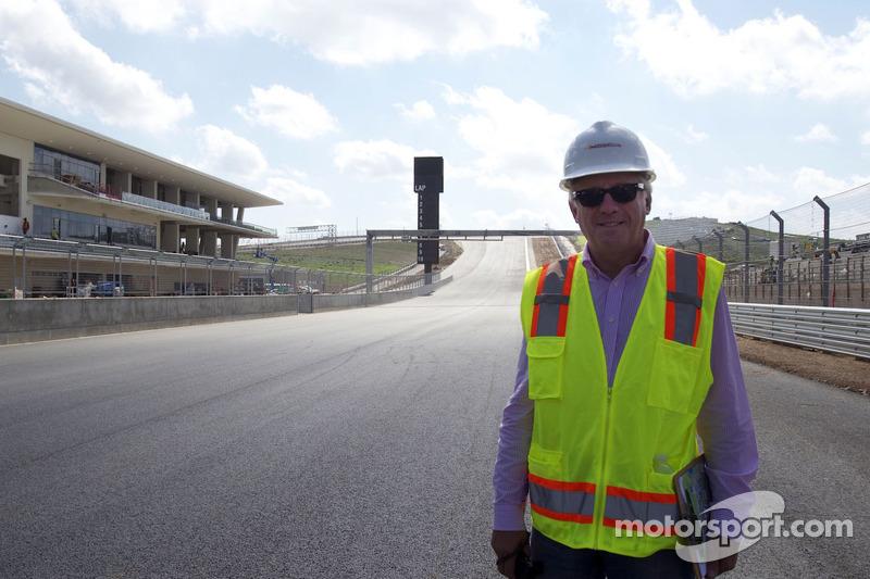 FIA koersdirecteur Charlie Whiting bezoekt circuit