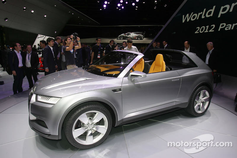 Audi Cross Lane Coupe At Paris Mondial De Lautomobile