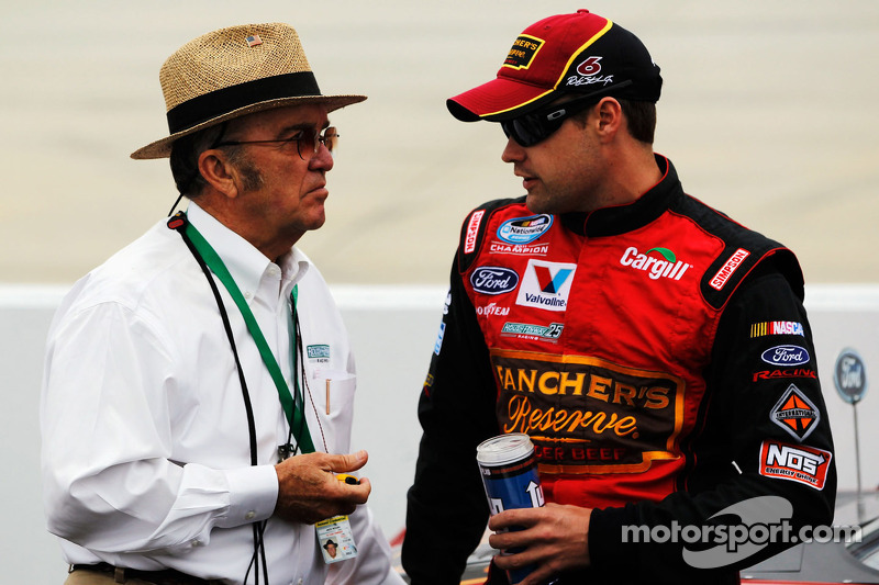Jack Roush en Ricky Stenhouse Jr.