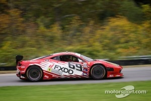 #69 FXDD AIM Autosport Team FXDD with Ferrari Ferrari 458: Emil Assentato, Jeff Segal