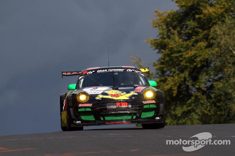 #8 Haribo Racing Team Porsche 997 GT3 R: Emmanuel Collard, Mike Stursberg, Hans Guido Riegel