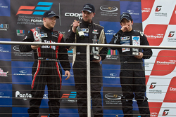 National class podium: Spike Goddard, Hywel Lloyd and Pedro Pablo Calbimonte