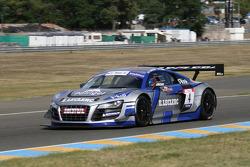 #4 Saintéloc Racing Audi R8 LMS Ultra: Paul Lamic; Grégory Guilvert