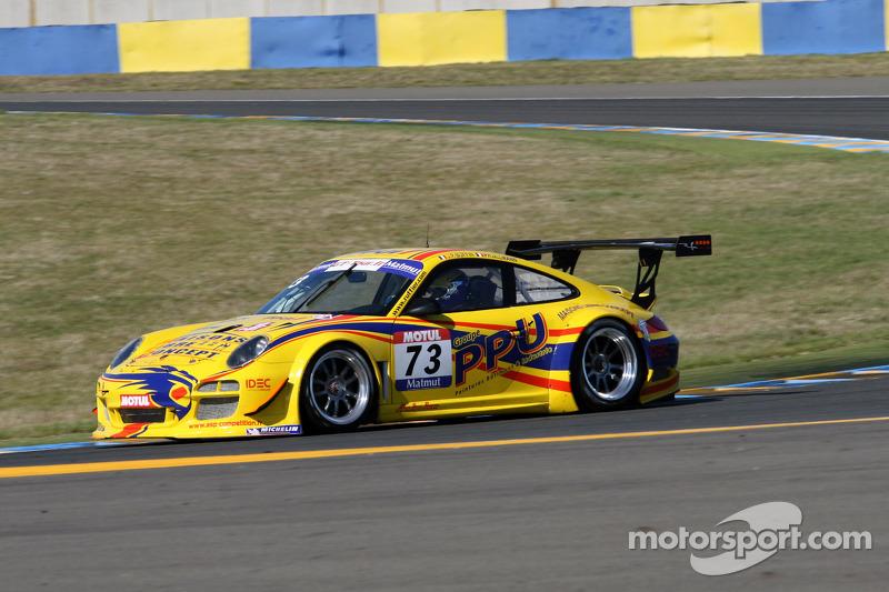 #73 Ruffier Racing Porsche 911 GT3 R: Jean-Paul Buffin; Philippe Ullmann