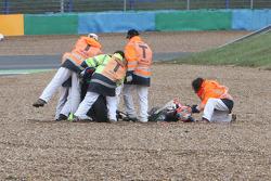 Leon Camier crash