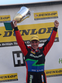 Round 27 Race Winner Jason Plato