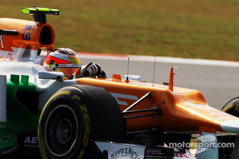 Jules Bianchi, Sahara Force India F1 Team derde rijder