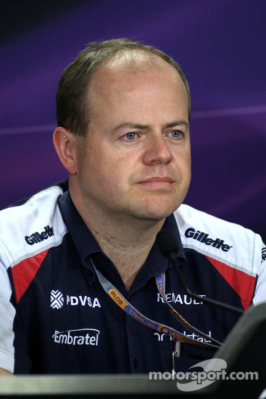 Mark Gillian, Williams F1 Team
