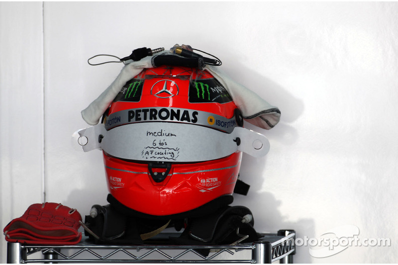 Helm Michael Schumacher, Mercedes GP