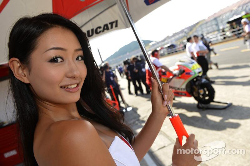 Ducati meisje