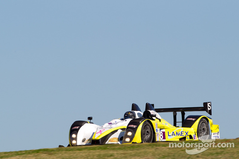 #8 Merchant Services Racing Oreca FLM09: Kyle Marcelli, Matt Downs, Chapman Ducote