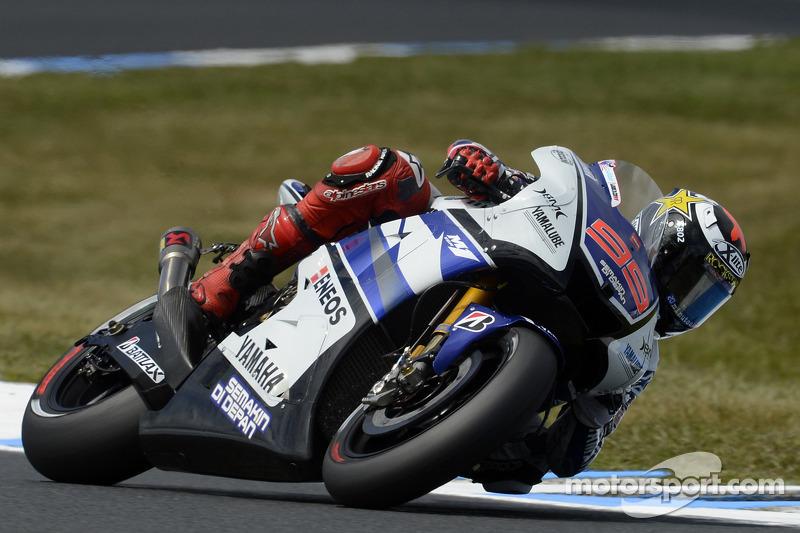 Jorge Lorenzo, Yamaha Factory Racing 2012