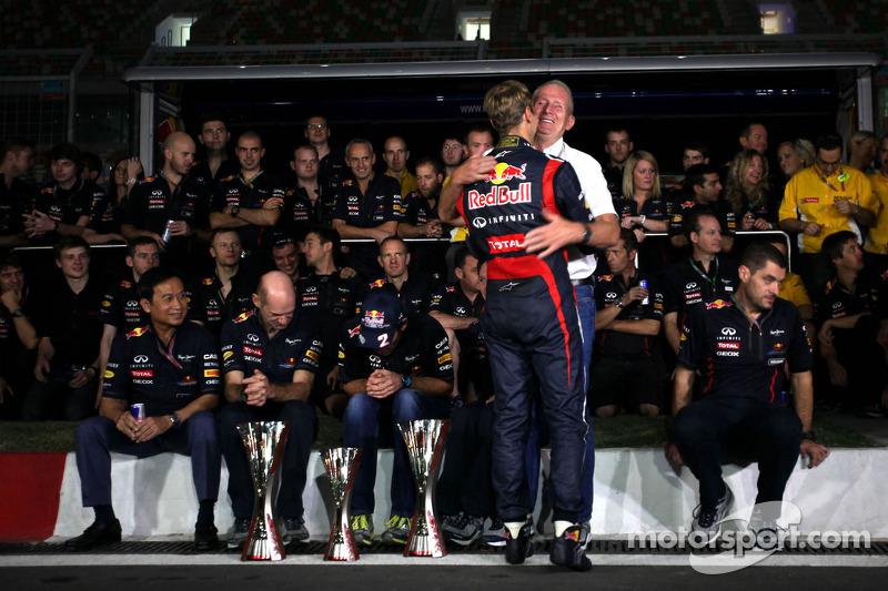 Sebastian Vettel, Red Bull Racing en Helmut Marko, Red Bull Racing, Red Bull Advisor