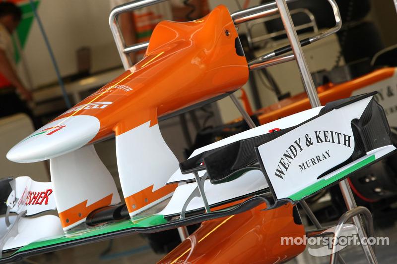 Sahara Force India Formula One Team voorvleugel