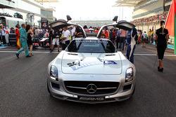 FIA Safety Car on the grid