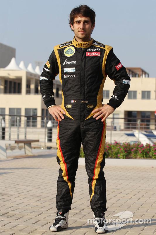 Nicolas Prost, Lotus F1 testrijder