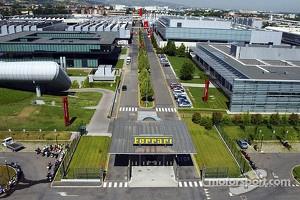 The Ferrari facilities